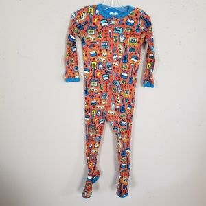 The Children's Place Pajamas Boy 3T  Footed